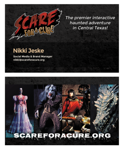 Scare Business Cards
