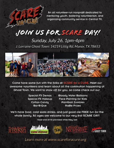Scare Event Poster